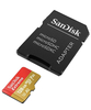 Карта памяти SanDisk Extreme microSDXC Class 10 UHS Class 3 V30 A2 160MB/s 128GB + SD adapter
