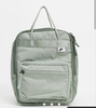 Nike mini khaki green box backpack