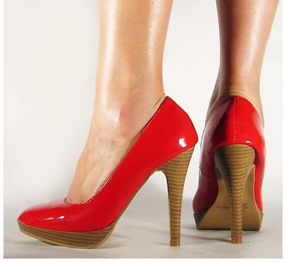 WISHLIST.RU Красные туфельки на высоченном коблуке