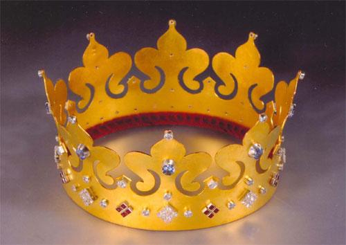 Корона царевны своими руками из бумаги