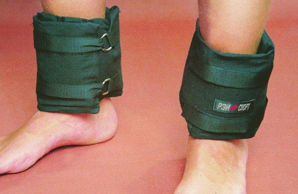Самодельные утяжелители для ног и рук