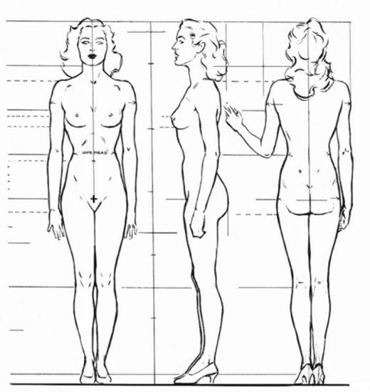 как рисовать тело мужчины