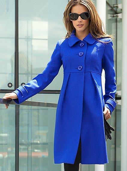 Сшить пальто женское видео