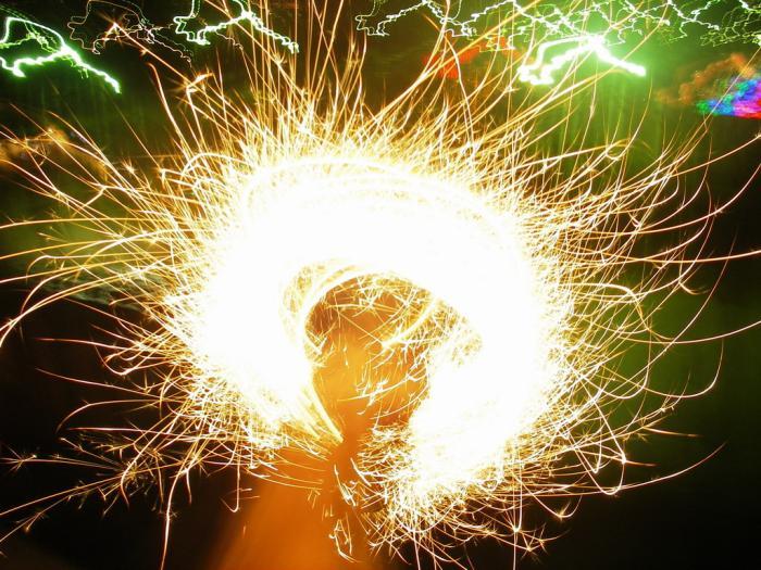 Бенгальские огни своими руками фото