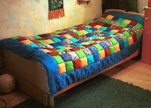 Стеганое одеяло своими руками