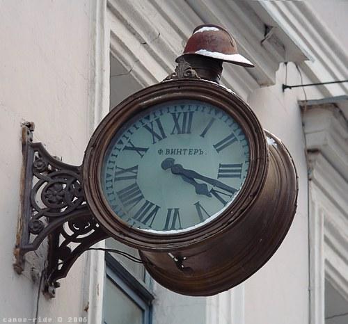 Уличные и фасадные часы - spbtiuru