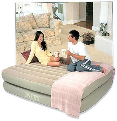 Мы продаем надувная кровать intex 64462 односпальная со встр насосом 220в (99x191x51) по цене 5 397 руб