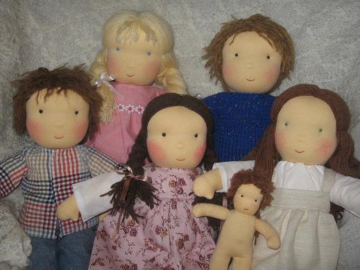 Самодельные игрушки для кукол
