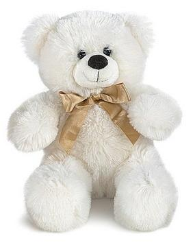 медведь белый плюшевый фото