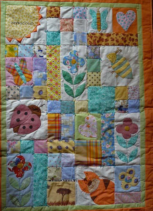 Схемы детского одеяла пэчворк