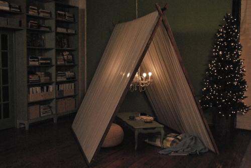 Как сделать шатер дома