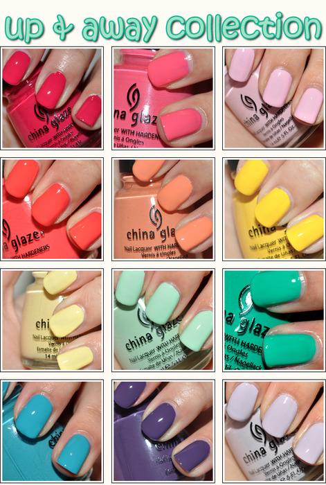 Модные сочетания цветов на ногтях