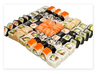 Суши как популярное блюдо