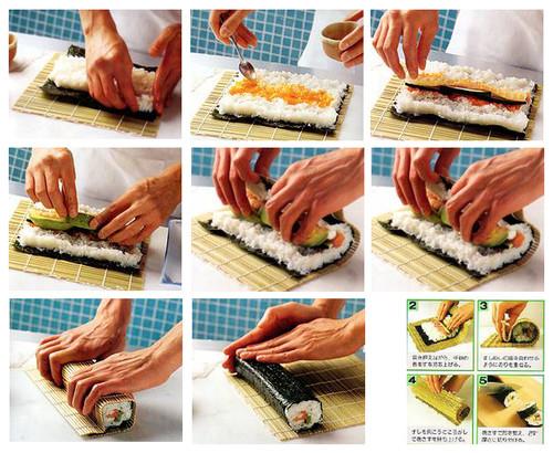 Как запекать суши в домашних условиях 11