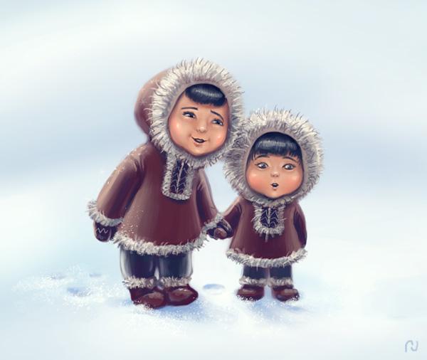 Костюм эскимосов своими руками