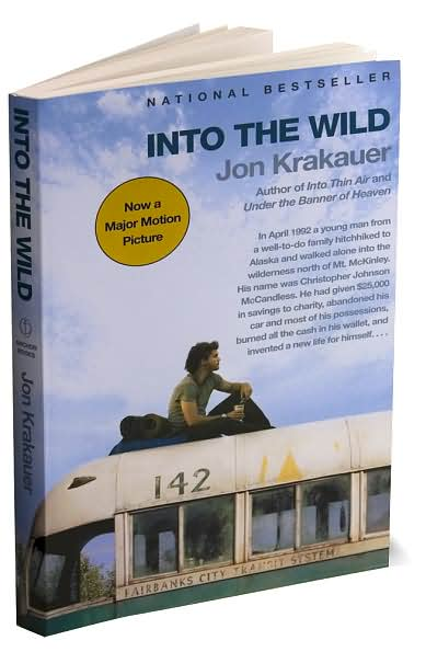 thesis statement for into the wild book Krakauer's statement of the facts culminating this research into the book before the reader, into the wild.