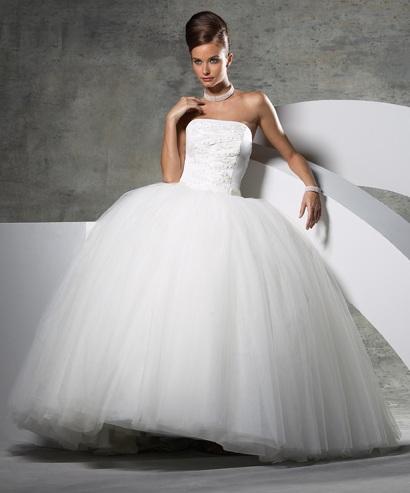 Самые пышные в мире свадебные платья в картинках - 2 Марта 2015