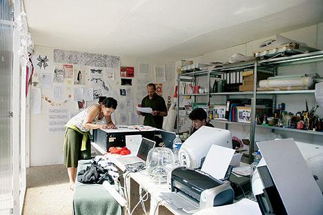 Работа дизайн студии