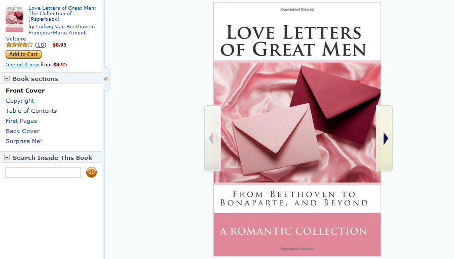 Love Letters Of Great Men The Collection Drawn From By Carrie Bradshaw