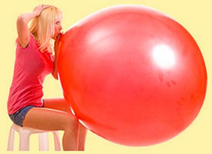 Как самим воздушный шарик