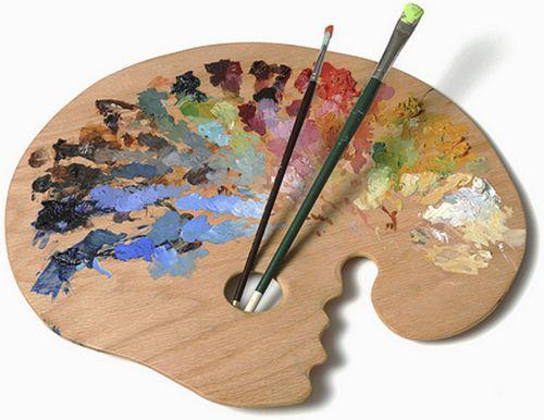 Палитра для масляных красок