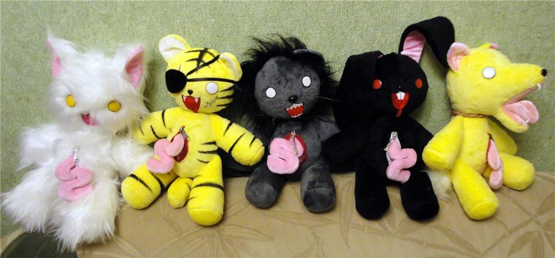 Аниме игрушки своими руками 39