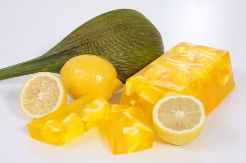 Мыло из лимона своими руками 967