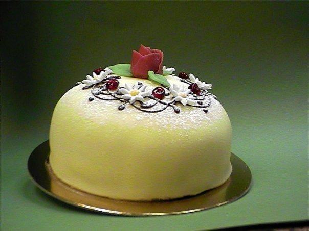 марципановые торты фото