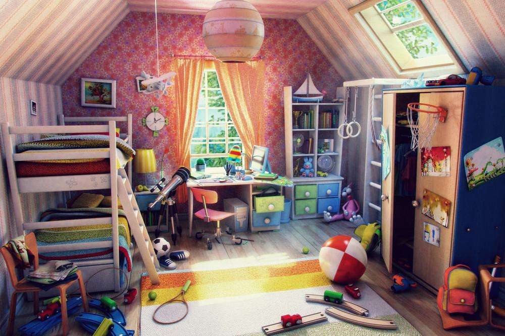 Где находится это моя комната