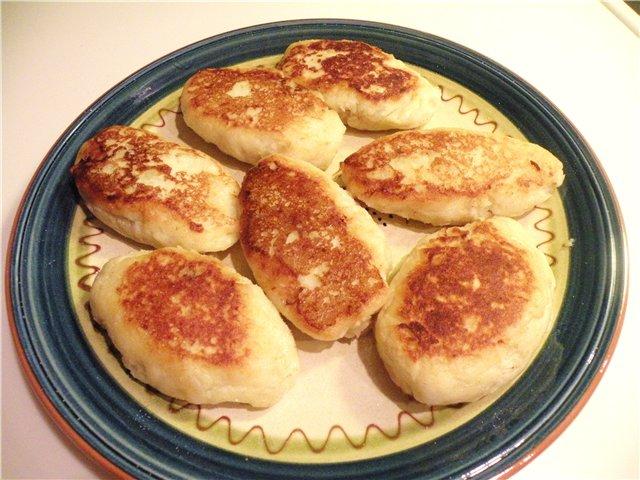 Рецепт картофельные зразы с фаршем с пошаговым