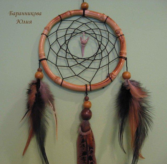 Ловец для снов из перьев своими руками