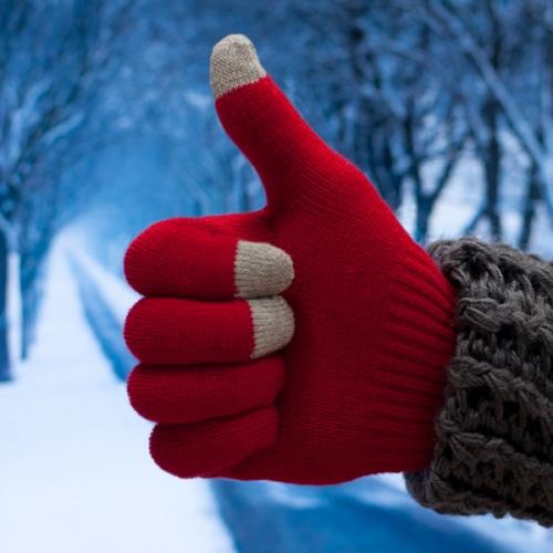 Красная перчатка 5