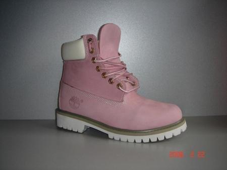 Розовые тимберленды