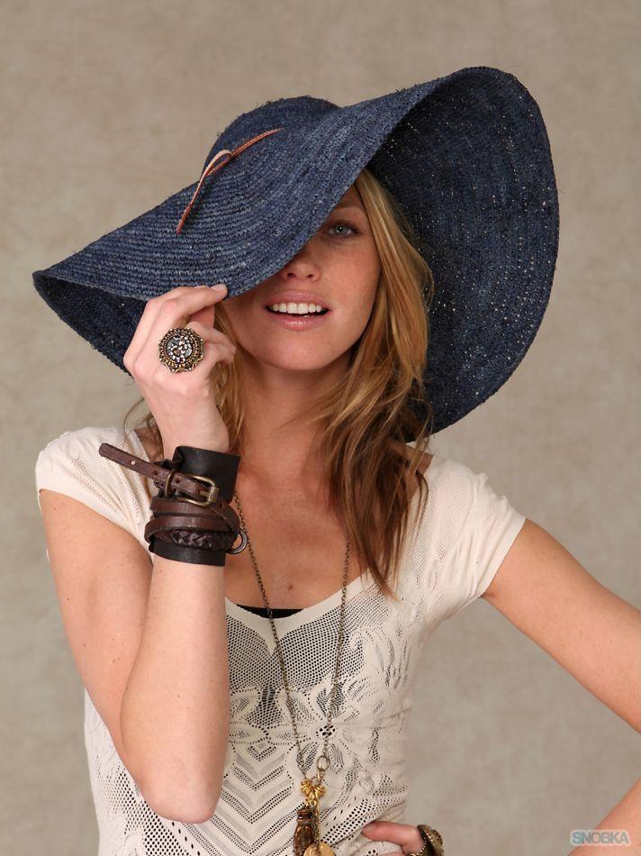 Шляпы с большими полями своими руками