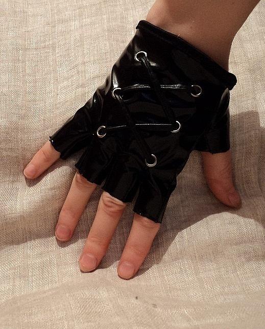 Как сделать перчатки без пальцев своими руками мужские 39