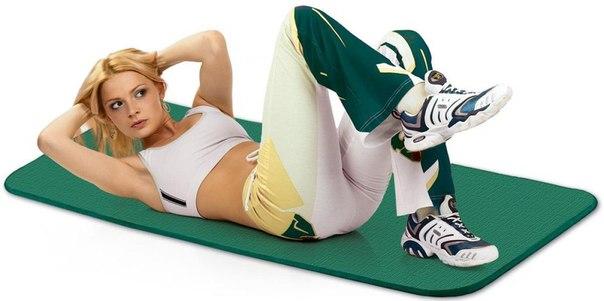 Фитнес коврик