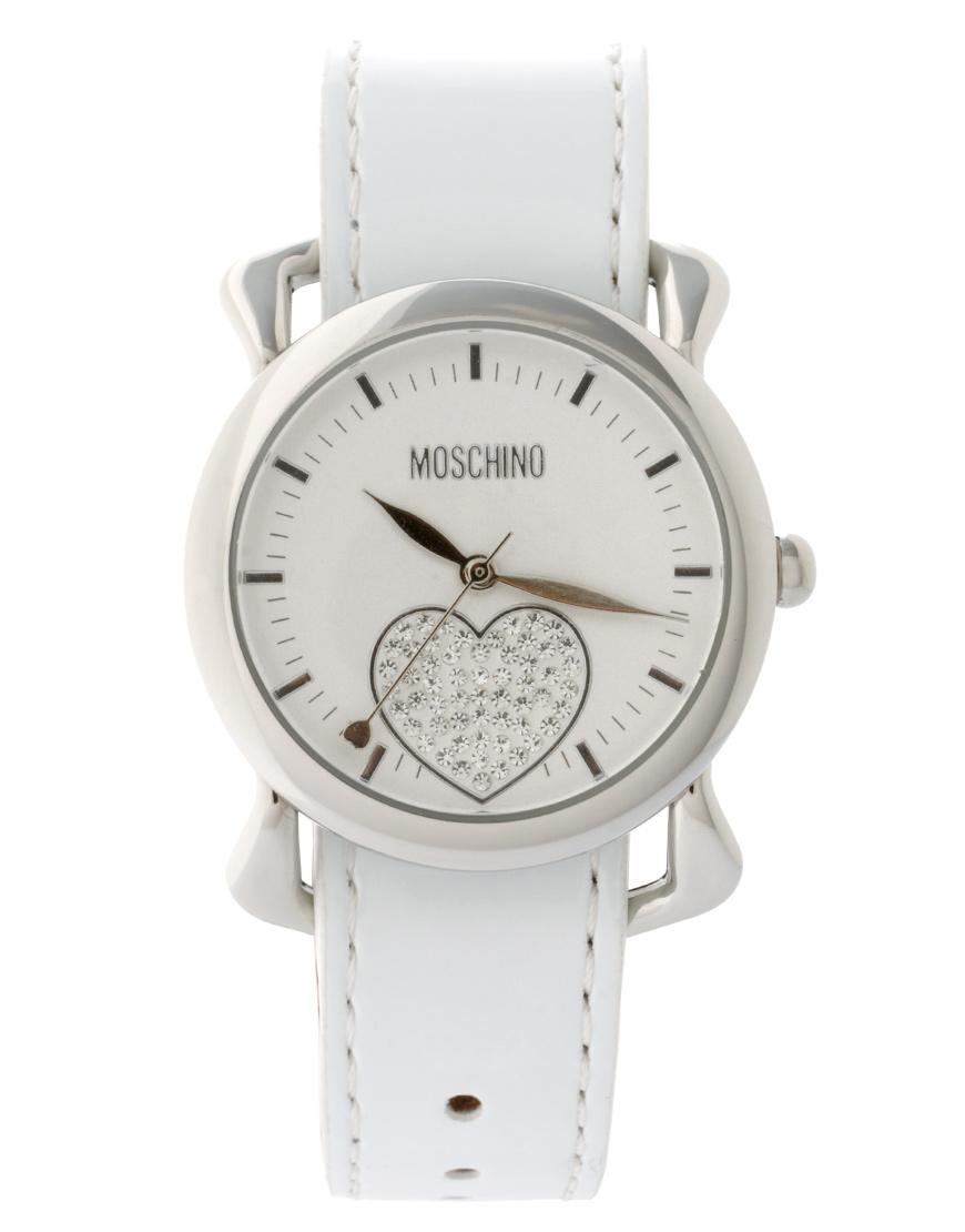 белые наручные часы женские Moschino Куплю в магазине брендовой одежды