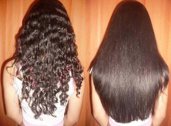 Как в домашних условиях сделать волосы прямыми и гладкими