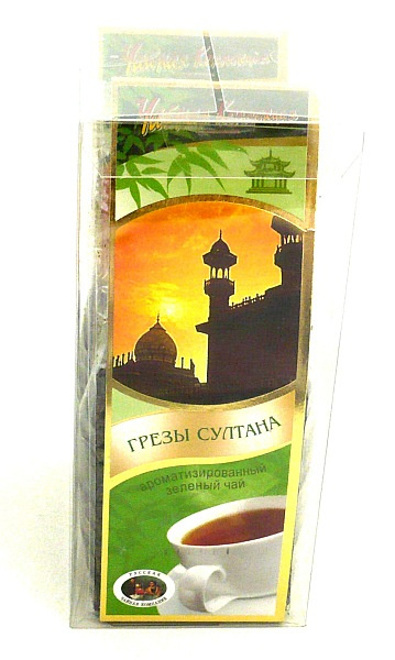 Зелёный чай султан для похудения