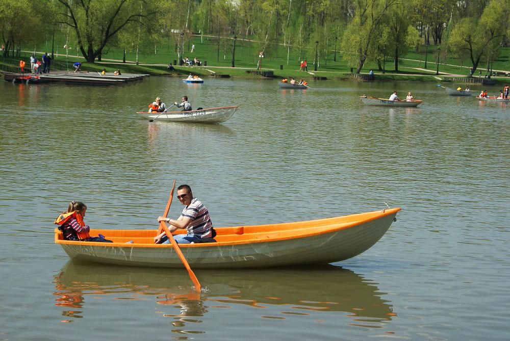 катание на лодках в царицыно цена