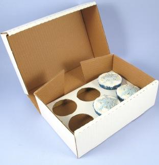 Коробка для кексов своими руками