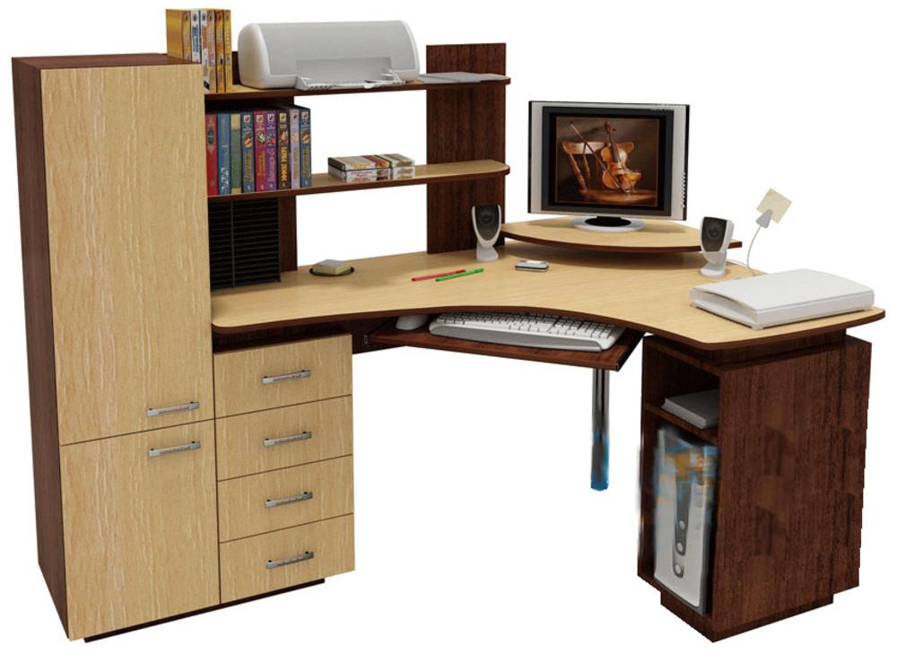 Комп ютерні столи з шафою фото.