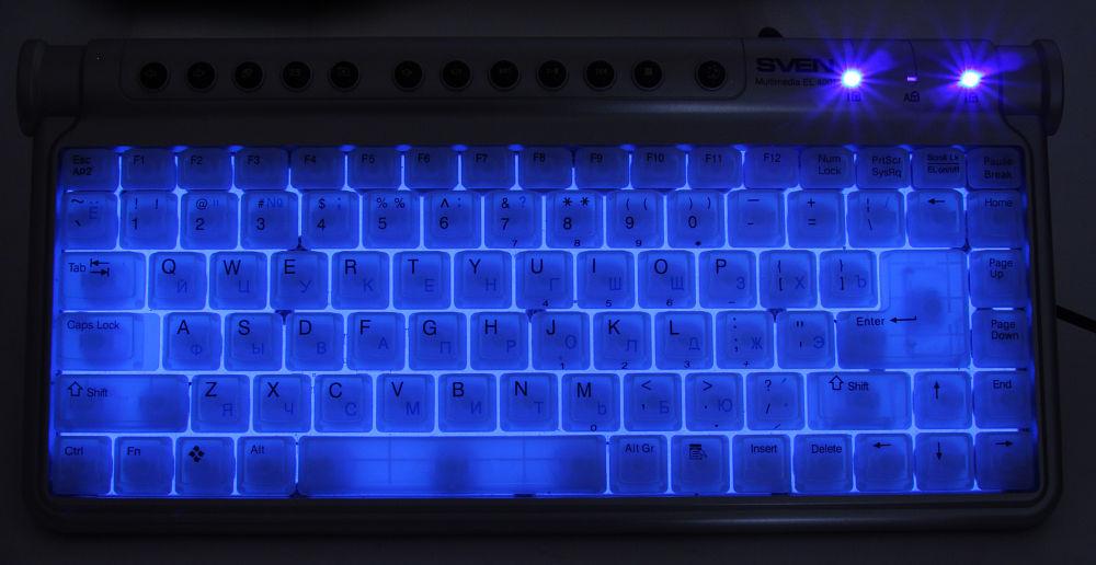фото клавиатура с подсветкой