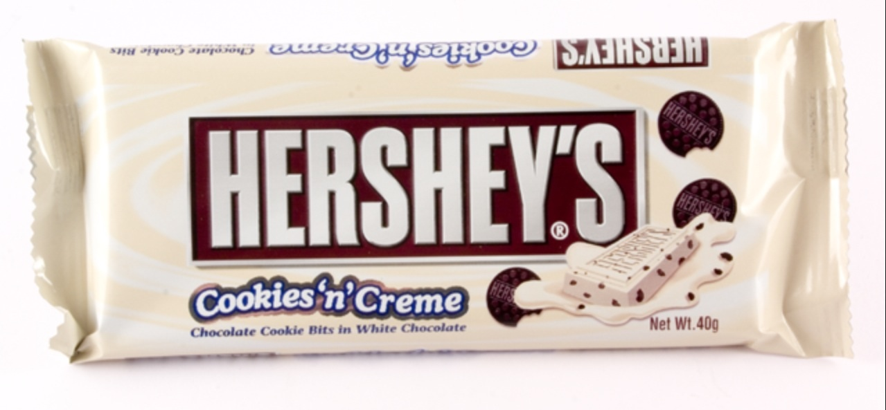 hersheys chocolate Hershey's chocolate is one of the most well known chocolate companies and the largest chocolate manufacturer in north america they have many different types of chocolate, such as hershey's kiss, hershey's bar, and reese's peanut butter cups.