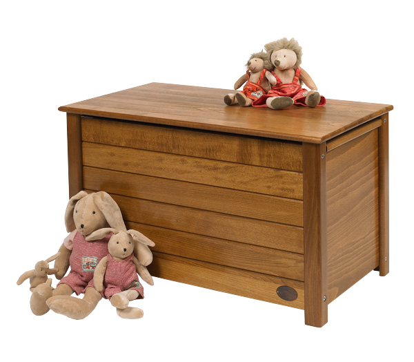 Сундук из дерева для игрушек