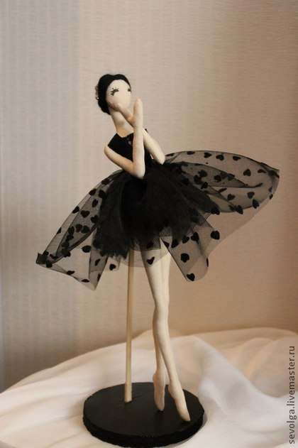 Как сделать балерину своими руками
