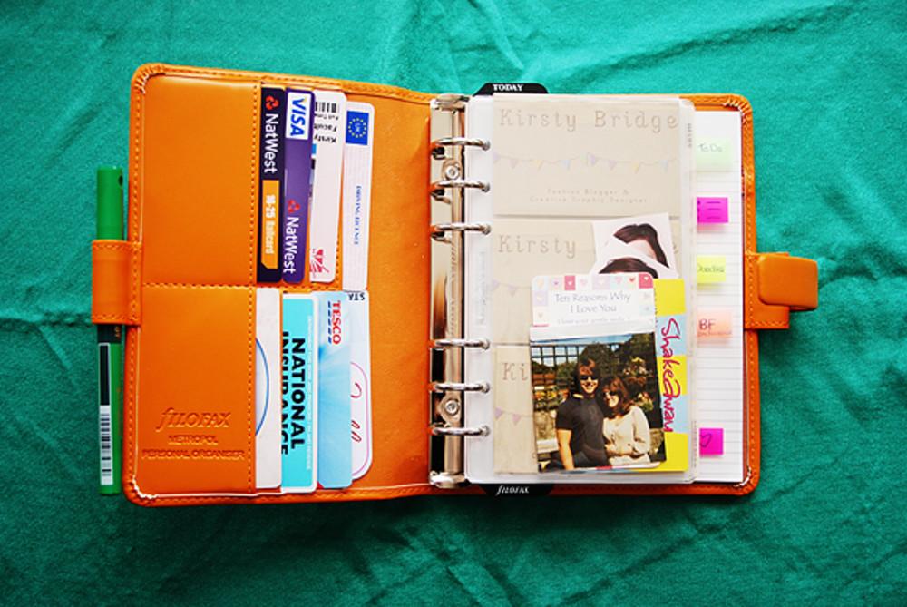 Как сделать свой органайзер для личного дневника