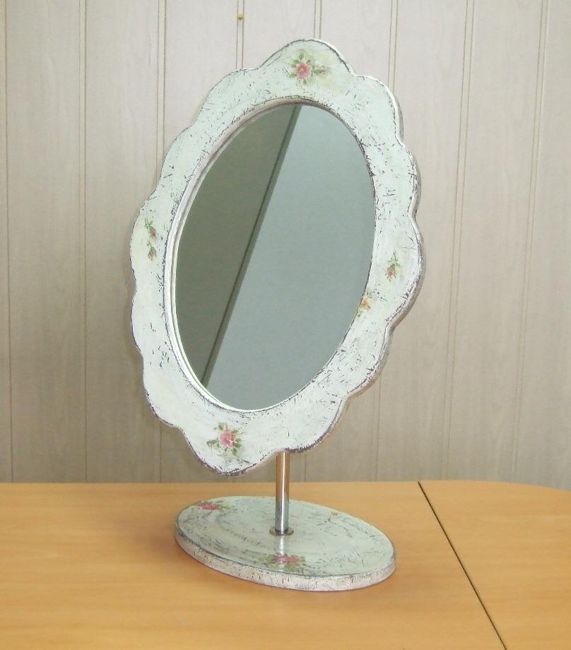 Вращающееся зеркало своими руками 74