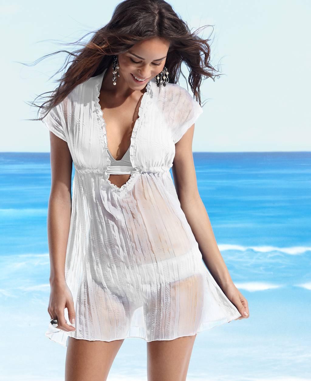 RU пляжная туника... Женская пляжная одежда