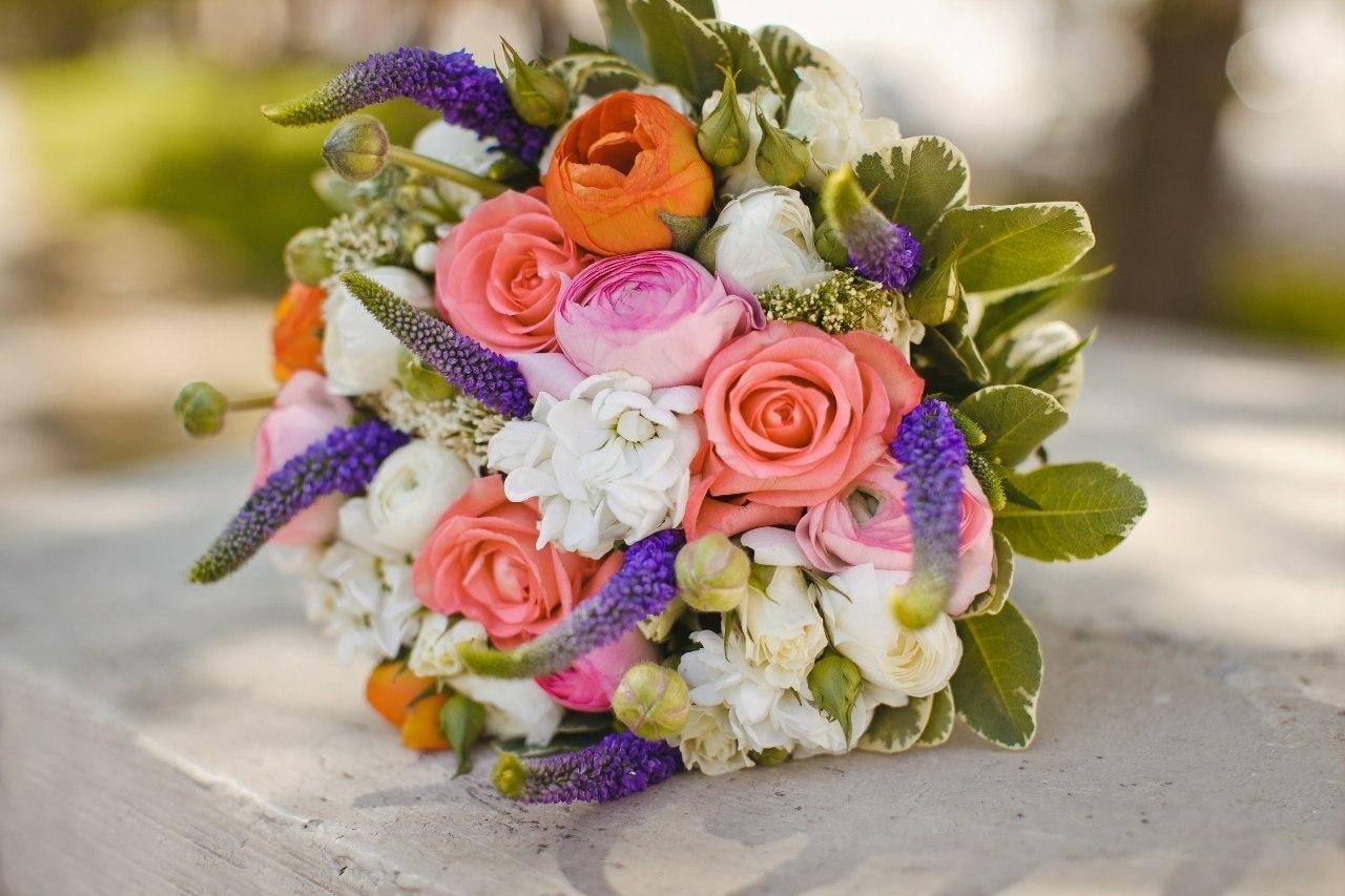 Фото букетов нежных цветов
